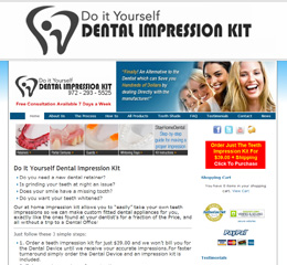 Do it yourself dental impression kit custom night guard full final say solutioingenieria Choice Image